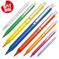 Transparent plastic ball pen (10068)