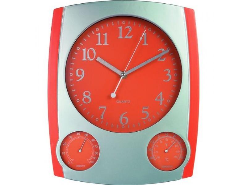 Ρολόι Τοίχου - Θερμόμετρο - Υγρόμετρο GR - 1890 6eb1a0e9cce